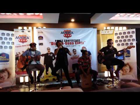 Amora Band - Relung Hati (Live @ Amora Band KL Press Conference 2015)