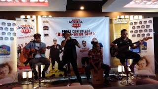Amora Band - Relung Hati (Live @ Amora Band KL Press Conference 2015)