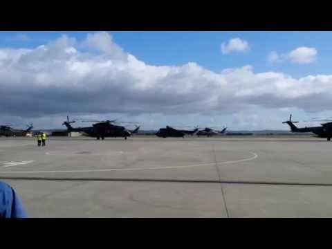 846 Naval Air Squadron return to RNAS Yeovilton
