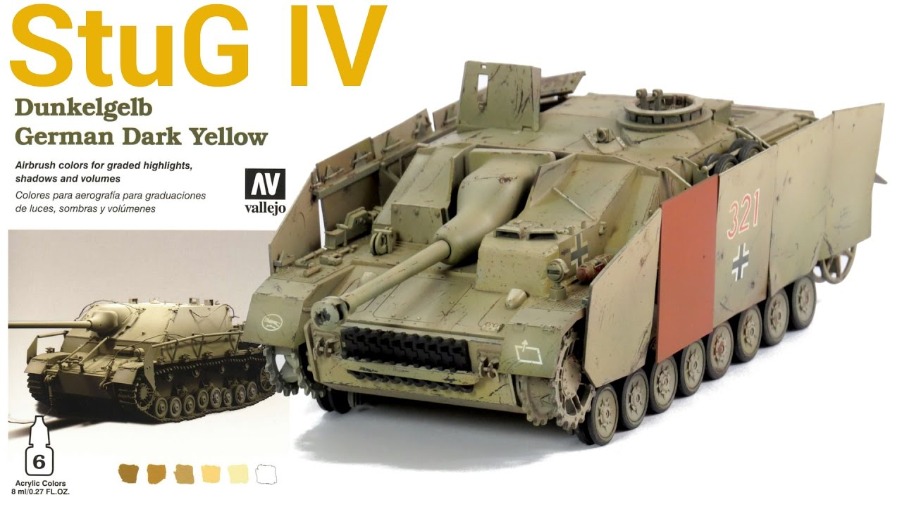 [2] Sturmgeschütz IV - StuG IV (Tamiya) - PAINT - PINTURA