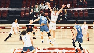 #3 UCLA VS Stanford Set 3 |NCAA Mens Volleyball|