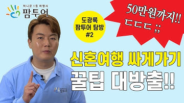 """[신혼여행 본격탐구] 3탄 """"2020 신혼여행 싸게가는 방법"""""""