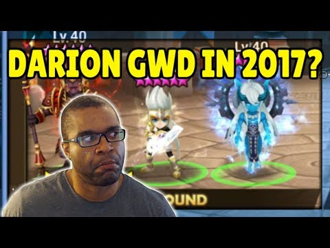 SUMMONERS WAR: Wlll Khmun's Shield + Darion's Passive be enough for this Guild War Defense?
