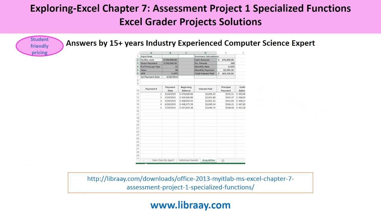 Chapter Security Home Excel 7