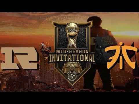 【MSI季中冠軍賽】半決賽 RNG vs FNC #1