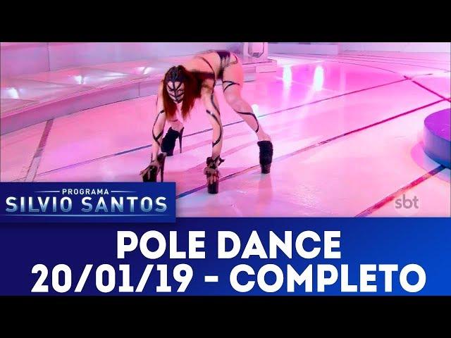 Pole Dance | Programa Silvio Santos (20/01/19)