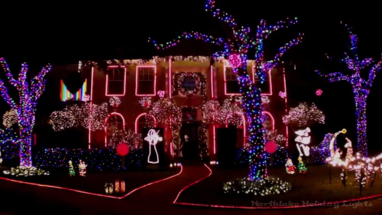 Star Wars Medley 2017 - Northlake Holiday Lights - YouTube