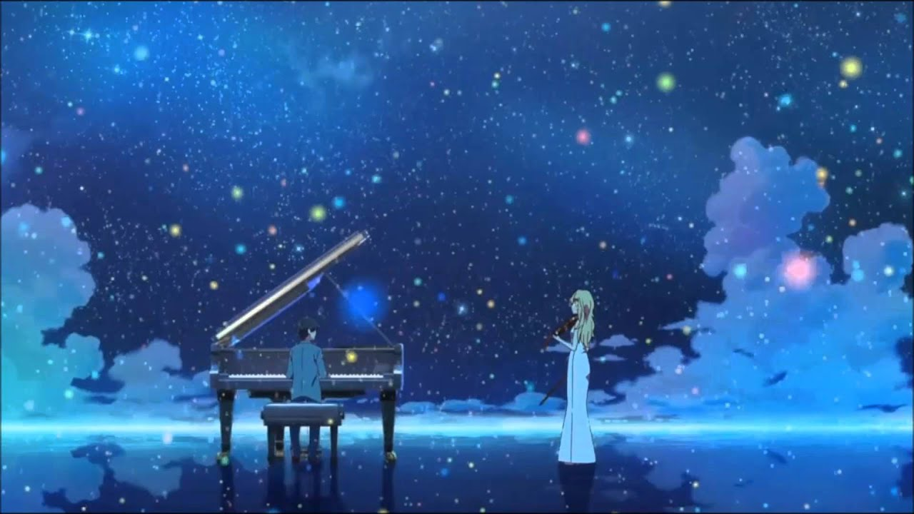 Your Lie In April Wallpaper Quotes 【bgm】《四月は君の嘘》私の嘘~pianosolo Youtube