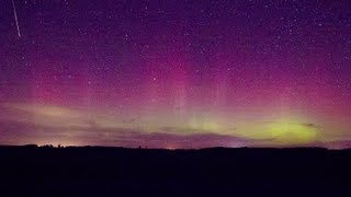 10/8/2013 Saint Cloud, MN Northern Lights,  Aurora Borealis
