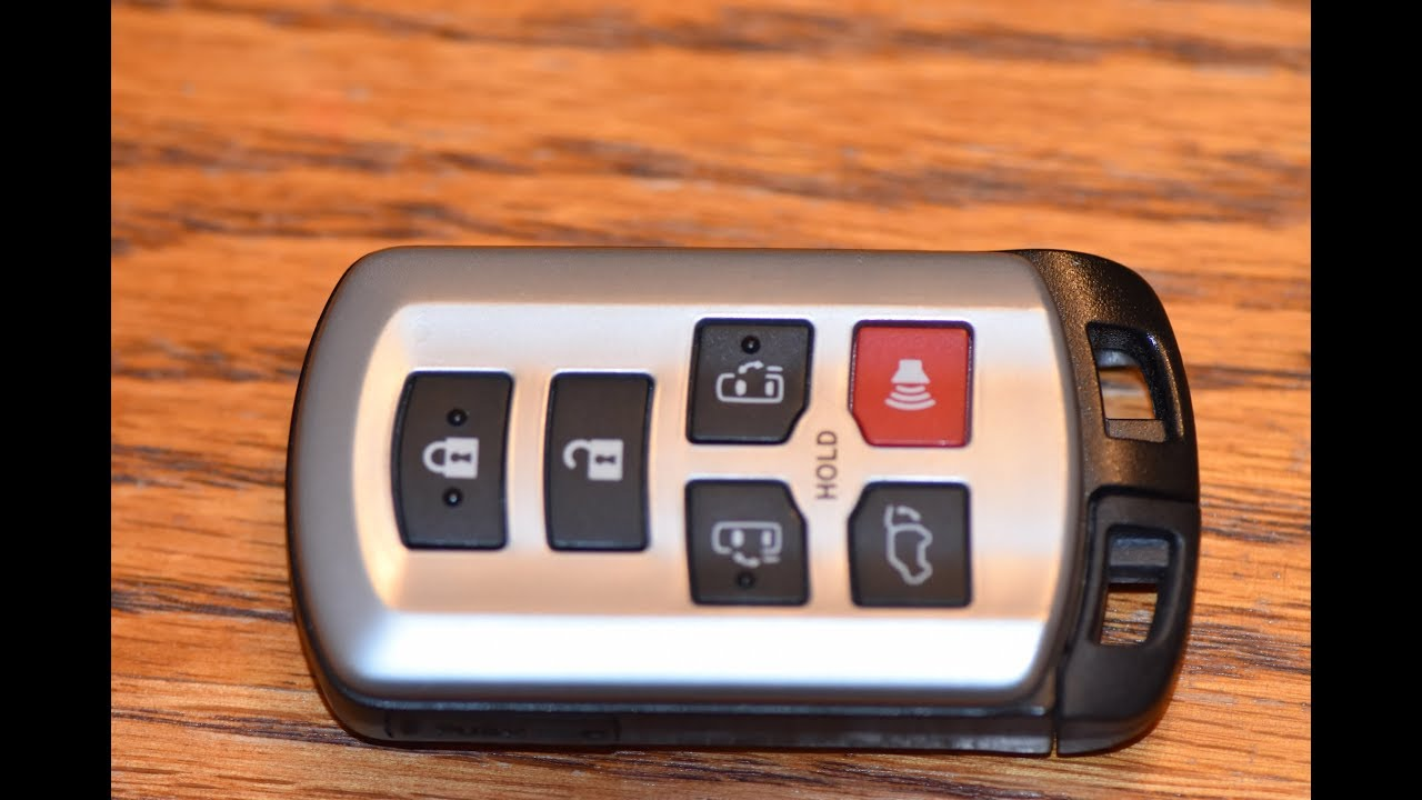 Diy How To Change Smartkey Key Fob Battery On Toyota Sienna