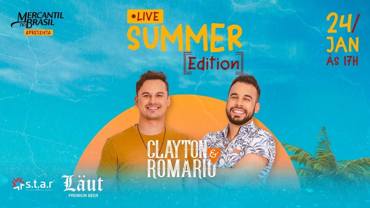 Download Clayton e Romário - Live Summer Edition