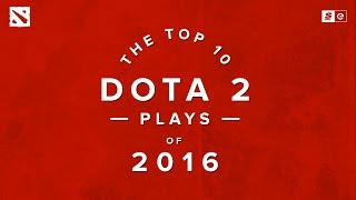 The Top 10 Dota 2 Plays of 2016