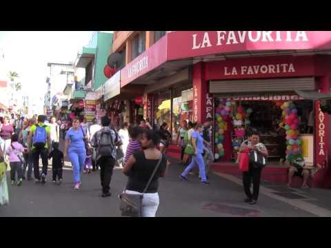 Walking Downtown in San Jose, Costa Rica 1/3