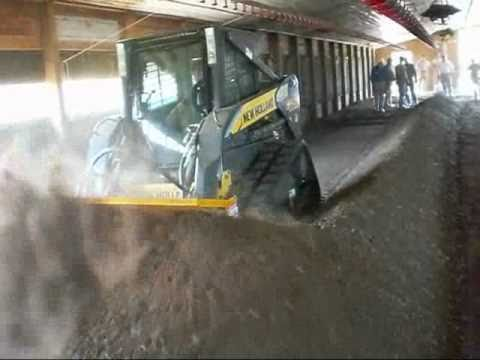 Arkansas Video Poultry Litter In House Windrow Composting