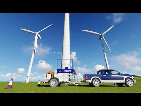 Wind turbine maintenance with CMM GL gear oil changer