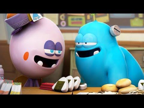 Funny Animated Cartoon | Spookiz Kong Kongs Inflated Balloon Head 스푸키즈 | Cartoon for Children