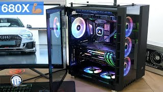 HighEnd Monster im Quadrat! Corsair 680X Build