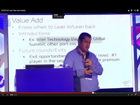 IDCEE 2013: Igor Taber (Director for Russia/CIS @Intel Capital)