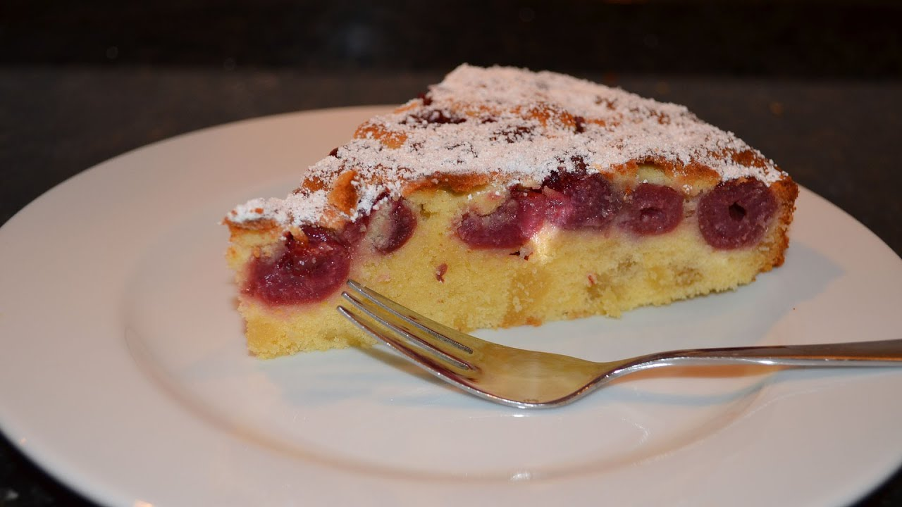 Marzipan kirsch kuchen backen youtube for Youtube kuchen