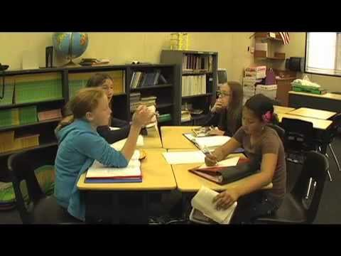 Classroom Observation: 5th Graders Literature Circle
