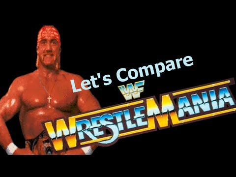 Let's Compare  ( WWF Wrestlemania )