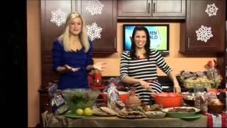 Toufayan Featured By Julie Taboulie On Winging It Buffalo On The Cw Network - Fattoush Salad Recipe