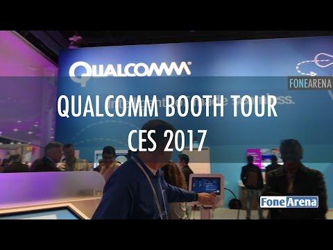 Qualcomm Booth Tour - CES 2017