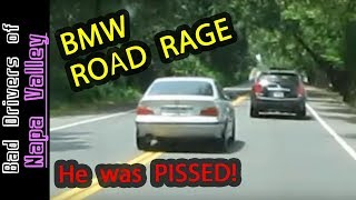 ROAD RAGE in the Napa Valley - BMW driver