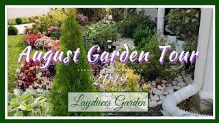 Aug Garden Tour🌺|| Giveaway Winner 🎊|| Kreatyve Laydiiee
