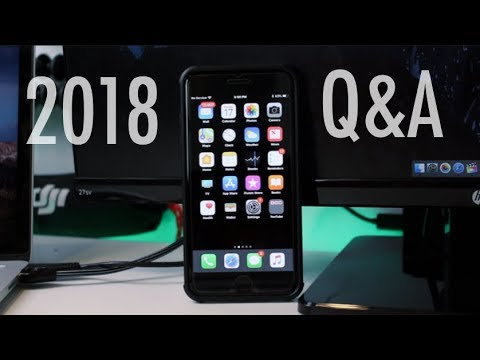 The BEST iPhone Apps of 2018, Free NETFLIX?... Q&A!