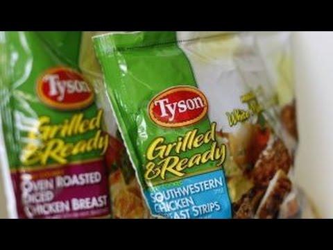 Tyson ending use of antibiotics in chicken