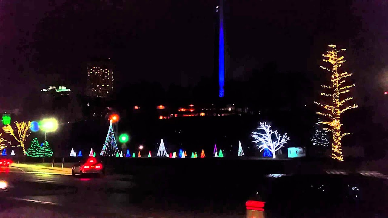 niagara falls canada christmas lights