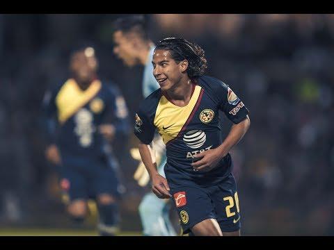 Pumas UNAM 1-1 Club América   RESUMEN Todos los goles Liguilla - Semifinales Ida   Liga MX   AP2018