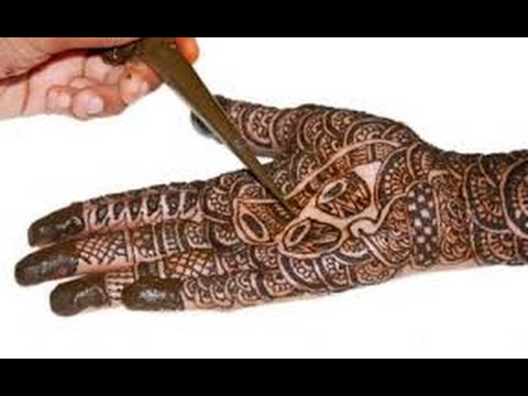how to take off henna