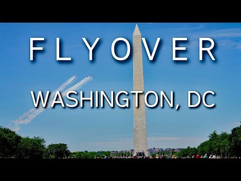 America Strong Washington DC Flyover By Thunderbirds And Blue Angels 2May20