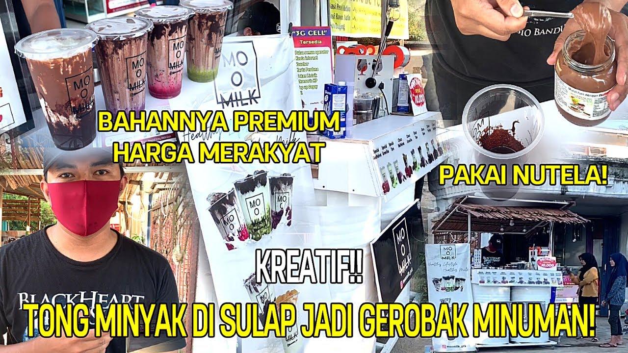 CUMA BELAJAR DR YOUTUBE! BIKIN JANJI JIWA & TEMAN MINDER DNGN AIR CIPTAANNYA | INDONESIA STREET FOOD