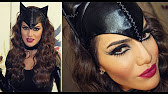 HALLOWEEN CATWOMAN MAKE-UP TUTORIAL - YouTube