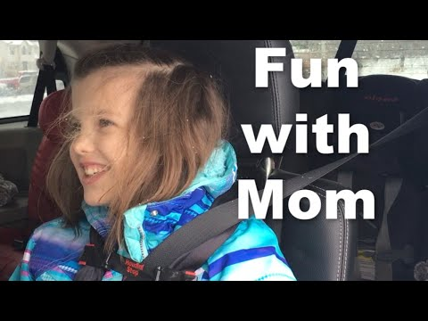 8 Year Old with Autism Spends Morning with Mom