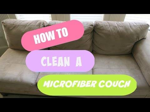 Cleaning my microfiber couch - does Alcohol work?