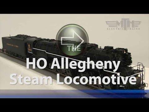 MTH HO Allegheny Steam Locomotive Spotlight