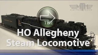 MTH HO Allegheny Steam Locomotive Spotlight