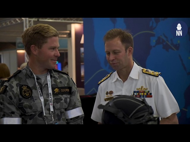 PACIFIC 2019 Day 3 - Navantia JSS, Submarine Cabin Concept, MTU Engine, Serco RSV Nuyina