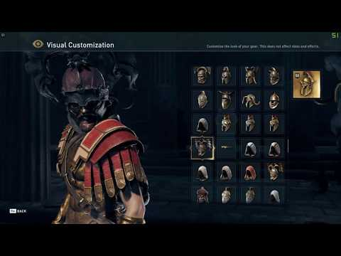 Assassins Creed Odyssey Visual Customization System All ...