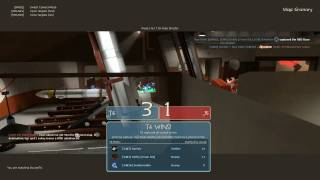 GWJ TF2 2010 Tourney game 2: Rolling Sixes vs No Disassemble Johnny #5 - Map: Granary (part 3)