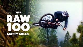 100 Seconds of Trail Destruction with Matty Miles | Raw 100