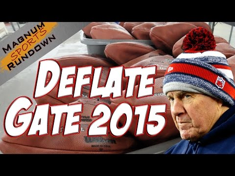 Deflate Gate || Patriots Accused of Cheating Again || MSR