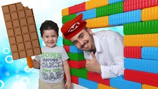 Johny Johny Yes Papa Nursery Rhymes Song by Yusuf, Learn Colors With Chocolate