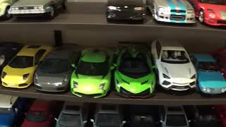 Basement- ManCave 800pc diecast collection