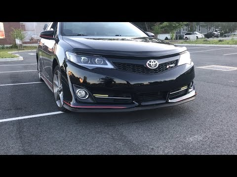 Review of 2012 Toyota Camry SE TRD Edition V6 3.5 (Just A Camry)