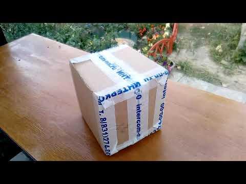 Пришла посылка с запчастями для хлебопечки